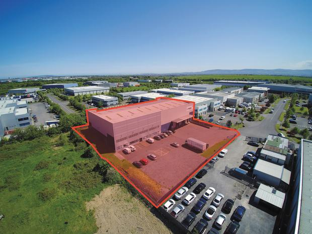 An aerial view of Unit 47, Rosemount Business Park