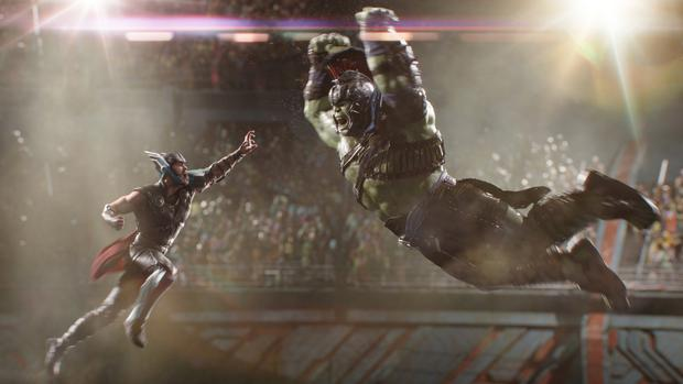 Framestore was involved with work on the film Thor: Ragnarok