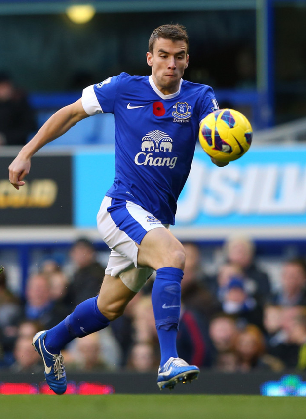 Everton's Seamus Coleman in action. Photo: Getty