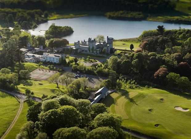 Receivers have taken control of a 6.8pc stake in Dromoland Castle, owned by Dr Anthony O'Reilly