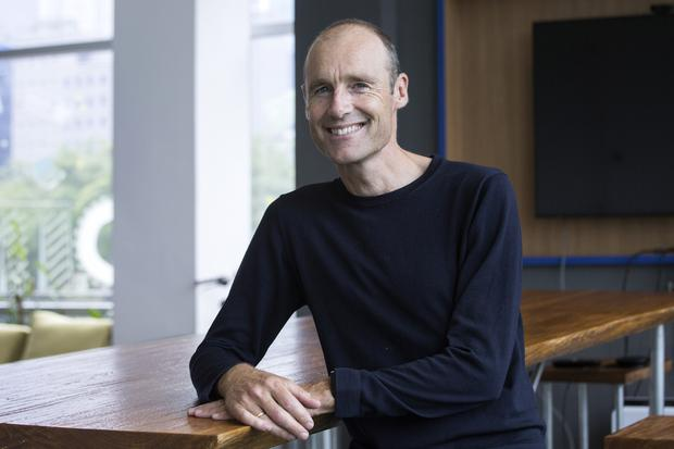 Pieter van der Does, co-founder and CEO of Adyen. Photo: Ore Huiying/Bloomberg