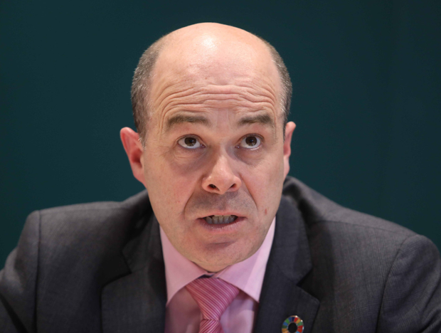Communications Minister Denis Naughten