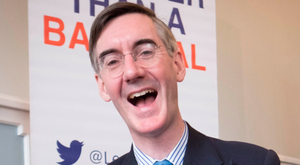 British Conservative MP Jacob Rees-Mogg demanded Ireland's 'bluff' be called over the border