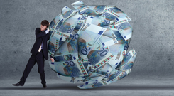 'Italy is a member of the euro. A threat to the single currency threatens everything.' Stock image