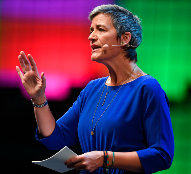 European Commissioner for Competition Margrethe Vestager. Photo: AFP