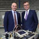David Kerr, CEO, Eirtech Aviation Composites, and Alastair Hamilton, CEO, Invest NI