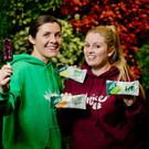 BJ Broderick and Trin O'Brien of Wellnice Pops plan to launch multi-packs specifically for supermarket multiples, and secure a listing with a multiple in the UK. Photo: Chris Bellew/Fennell Photography