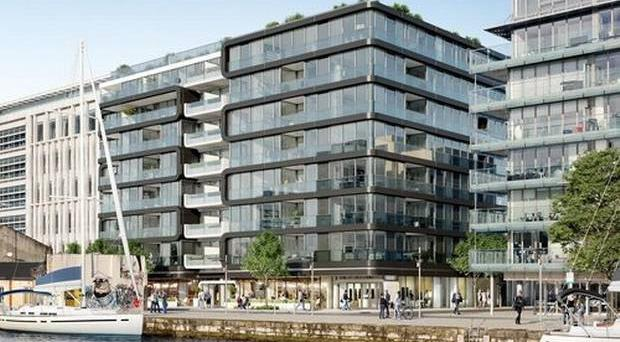 Apartments in Docklands scheme sold for €800k each