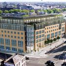 Artists' impression of the Charlemont Exchange