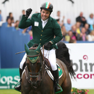 Showjumper Cian O'Connor's plans were supported by local Fine Gael TD Helen McEntee