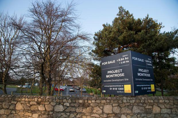 The sale of RTE's Donnybrook site netted e107.5m