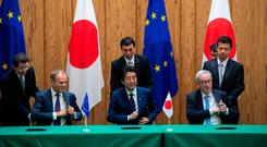 Farmers and car buyers win from EU-Japan deal
