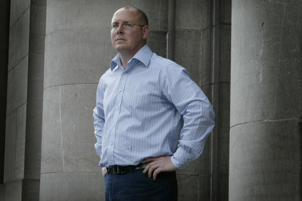 Former Barings rogue trader Nick Leeson, whose actions brought down the bank. Photo: David Conachy