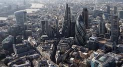 London office space take-up has hit a near three-year high.