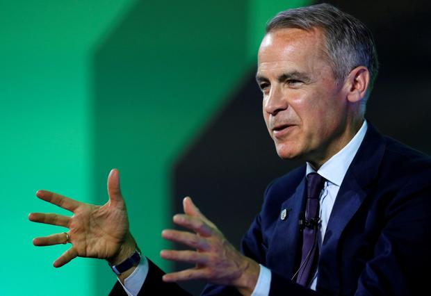 BoE Governor Mark Carney is preparing for 'disorderly' exit Photo: Reuters