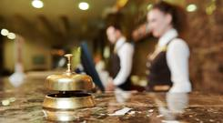 A majority of businesses that were declared insolvent were found in the services sector. (stock photo)