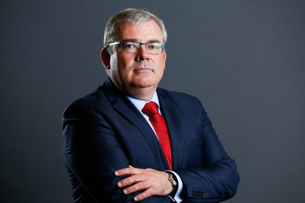 Chief executive Bernard Byrne of AIB Photo: Bloomberg