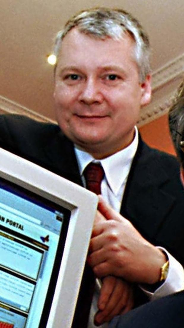Colm Crossan pictured in his time at Norkom Technologies