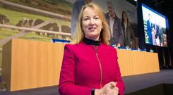 Glanbia chief executive Siobhan Talbot