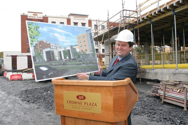 Enda O'Meara, managing director of hotel group Tifco, which manages or owns 24 properties
