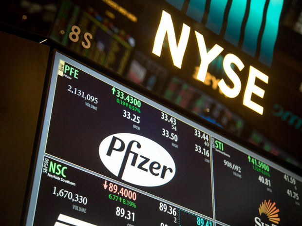 Pfizer, it's estimated, spent the equivalent of 71pc of profits on buybacks; while Michael O'Leary's Ryanair, Apple, Albert Manifold's Irish giant CRH, and BP have all opted for buybacks Photo: Bloomberg