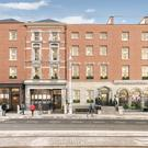 An artist's impression of the plan to redevelop the Royal Irish Automobile Club and build a new hotel opposite the Mansion House