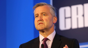 Albert Manifold, chief executive of global giant CRH, which does most of its business outside Ireland Photo: Gary O'Neill