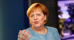 It might work out better for Angela Merkel's Germany if a non-German takes over at the ECB but pursues the same policy. Photo: Reuters