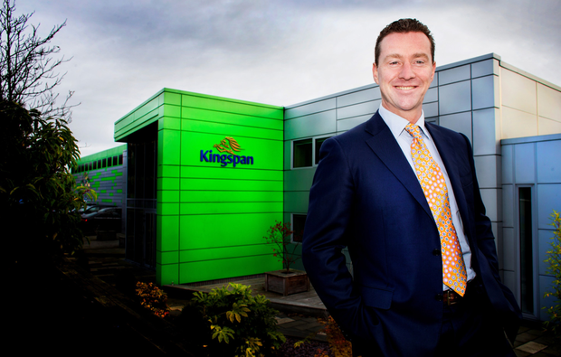 Kingspan CEO Gene Murtage said that the group's geographical footprint continued to expand,