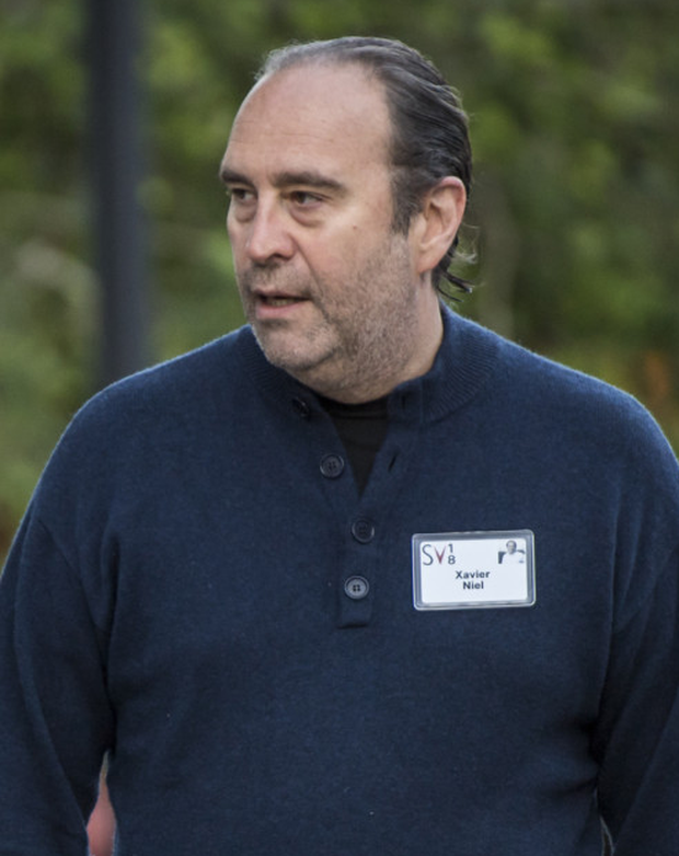Connected: Telecoms entrepreneur Xavier Niel bought Eir through Iliad and his investment vehicle NJJ. Photo: Bloomberg
