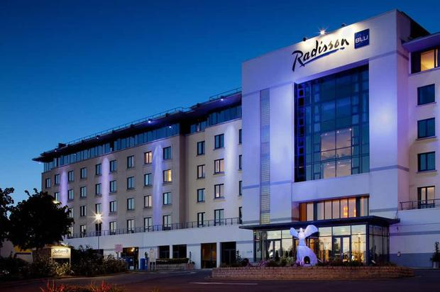 The Radisson Blu hotel at Dublin Airport
