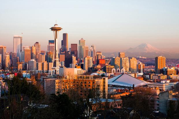 Slowdown: Seattle is just one of a number of major US cities where rents have begun to decline, forcing landlords to compete for tenants