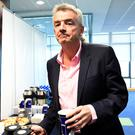 Ryanair CEO Michael O'Leary at last year's AGM in Dublin.