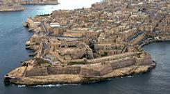 Island living: Home prices in Malta recorded a 17pc year-on-year increase in the three-month period to the end of June, according to Knight Frank's Global House Price Index