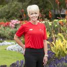 Muriel Cuddy of Health and Fitness in the Botanical Gardens in Dublin. Photo: Tony Gavin