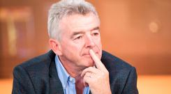 Ryanair chief executive Michael O'Leary. Photo: Bloomberg