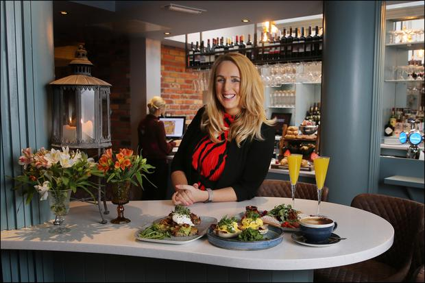 Gourmet Food Parlour's Lorraine Heskin said they aim to offer 'something that combined a mix of food influences with a homemade twist'. Picture by David Conachy