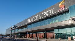 Shannon Airport was affected by the