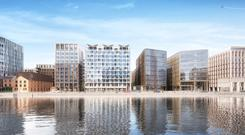 On the Waterfront: RGRE and Colony Capital have agreed to pay €180m for Project Waterfront, a 4.6 acre site in the Dublin Docklands