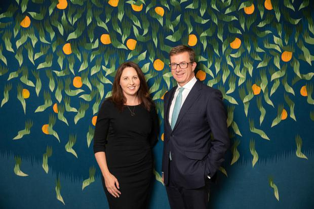 A&L Goodbody have announced the appointment of Eithne Lynch as its first full-time Pro Bono Associate. She is pictured here with A&L Goodnody managing partner Julian Yarr.