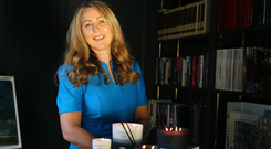 Siobhan Kehoe, business development manager of Rathbornes 1488 candles. Picture: David Conachy