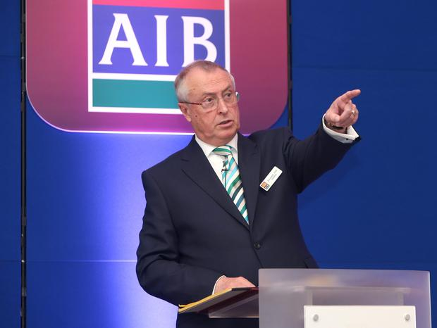 Richard Pym, chairman of AIB. Photo: Damien Eagers