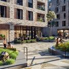 Art of the city: An artist's impression of Dublin Landings Residential. Ballymore and Oxley are seeking a buyer for all 268 units at the scheme