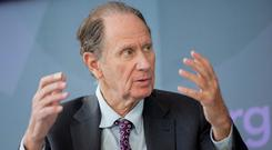 At last year's AGM, the group opposed the re-election of Mr Bonderman. Photo: Andrew Harrer/Bloomberg