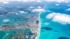 Ready for take-off: Among the new routes from Irlandia airline Viva Colombia is a direct flight to Miami, Florida that will launch in December