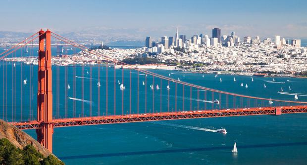 Pressure: Two in five households in Californian cities such as San Francisco are paying over 30pc of their monthly income on housing