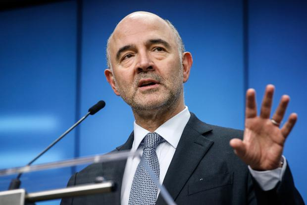 Rial talk: European Economic Affairs Commissioner Pierre Moscovici said the EU was opposed to US sanctions against Iran. Photo: Bloomberg