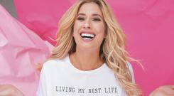 Ambitious brand: British TV presenter Stacey Solomon, who launched her own winter collection for Primark, which plans to expand in eastern Europe