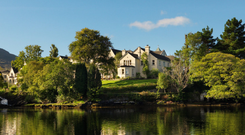 Splendour: Sheen Falls Lodge has undergone a €5m refurbishment since being acquired by current owners, Palladian Hotels, in 2013