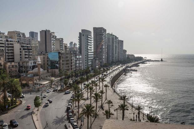 Crisis: Prolonged conflict in neighbouring Syria and political divisions at home have hit confidence in the Beirut property market